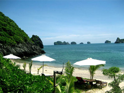 HA LONG BAY - CAT BA ISLAND TOUR FOR 3 DAYS 2 NIGHTS (1 NIGHT ON THE BOAT & 1 NIGHT AT THE CATBA HOTEL)